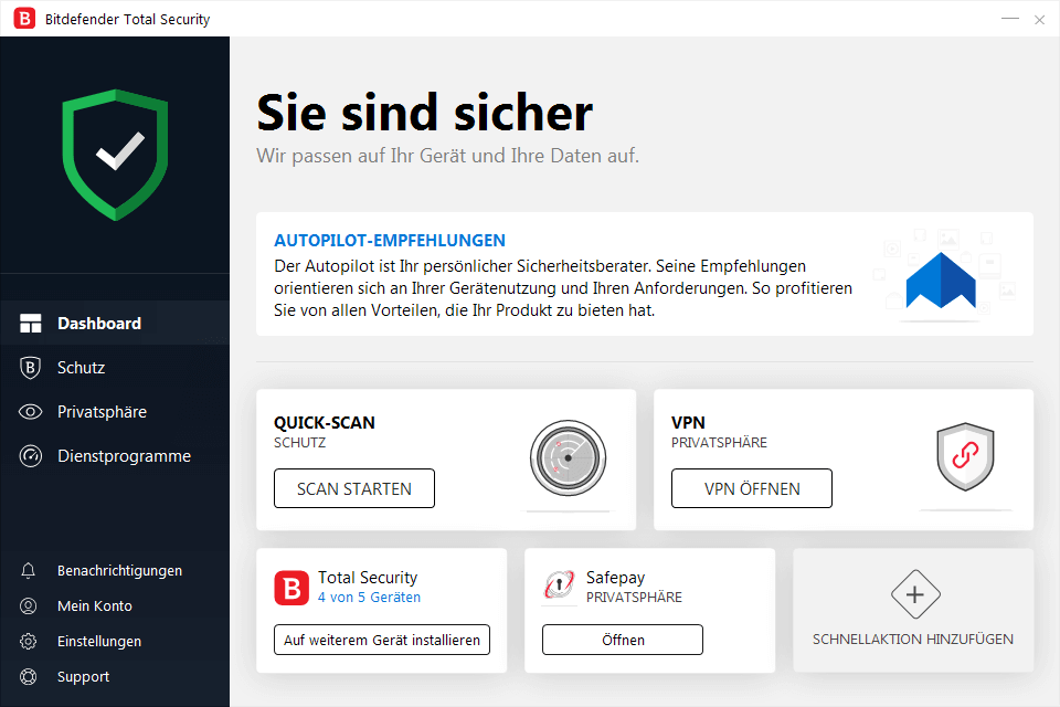 Bitdefender Antivirus Plus 2019 - 5 PC | 3 Jahre / 1095 Tage (Download)