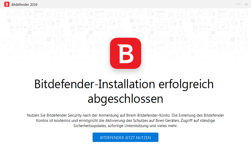 Bitdefender Internet Security 2019 - 5 PC (Windows) | 2 Jahre / 730 Tage | +VPN