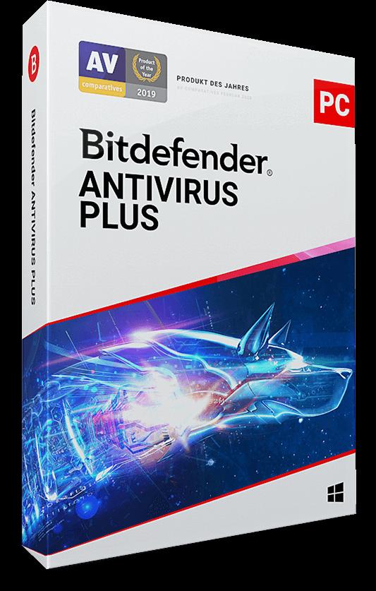 Bitdefender Antivirus Plus 2021 – 1 PC (Windows) | 3 Jahre / 1095 Tage