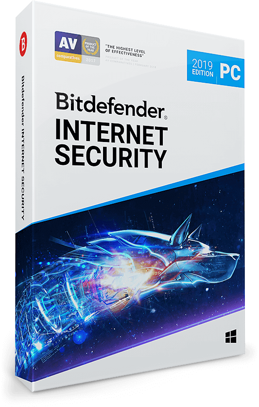 Bitdefender Internet Security 2019 - 5 PC (Windows) | 3 Jahre / 1095 Tage | +VPN