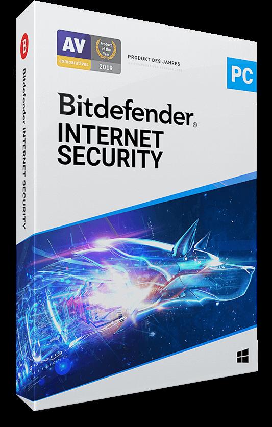 Bitdefender Internet Security 2021 - 10 PC (Windows) | 1 Jahr / 365 Tage