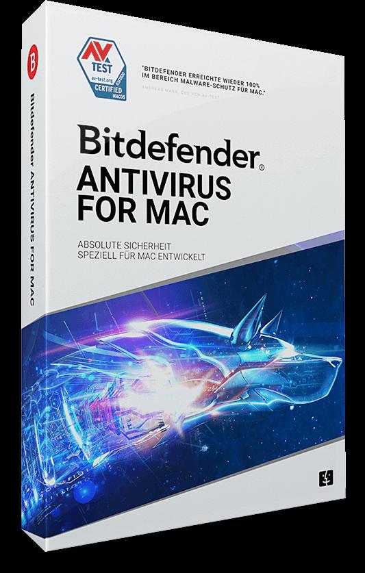 Bitdefender Antivirus für Mac  – 3 Mac (macOS) | 1 Jahr (Download)