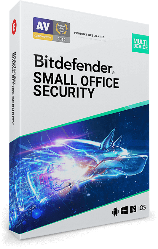 Bitdefender Small Office Security – 5 Geräte | 1 Jahr (Win, Mac, Android, iOS)